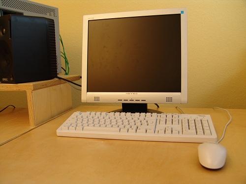 Der TFT Monitor ist vom heutigen PC Arbeitsplatz nicht mehr wegzudenken